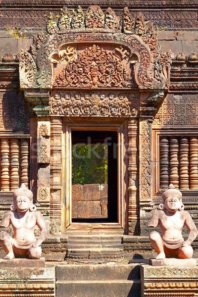 Banteay Srey temple Stock photo © alexeys