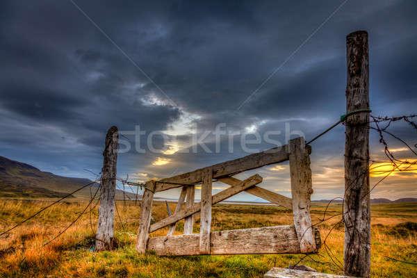 Gate Stock photo © alexeys
