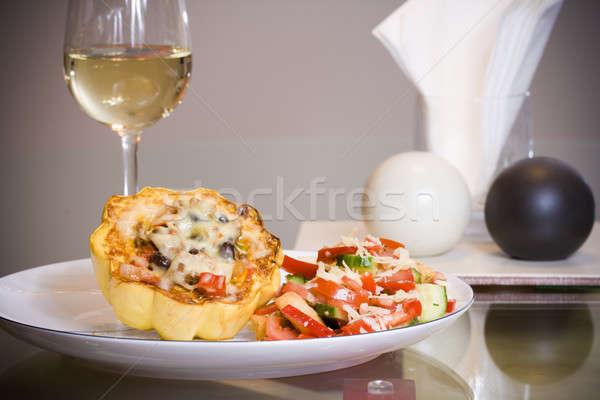 Gourmet dinner Stock photo © alexeys