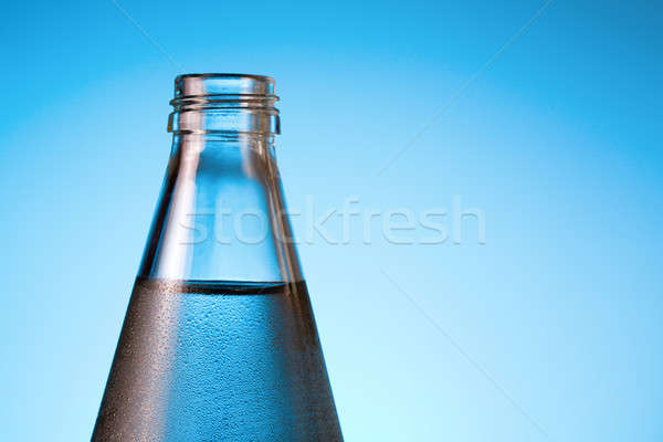 Stock photo: Bottle of water