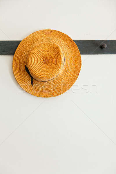 Straw hat Stock photo © alexeys
