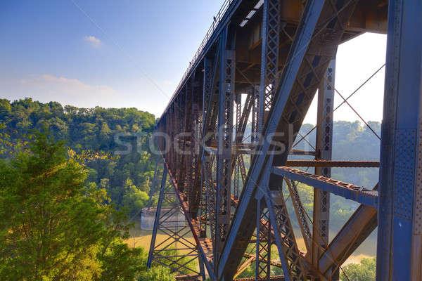 Railroad Bridge Stock photo © alexeys