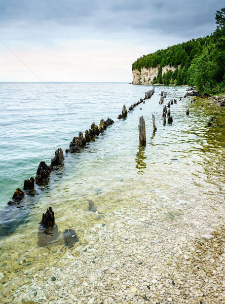 Fayette State Park shoreline Stock photo © alexeys
