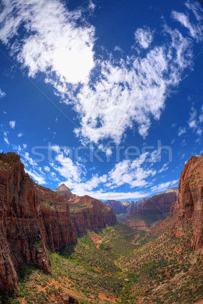 Zion sky Stock photo © alexeys