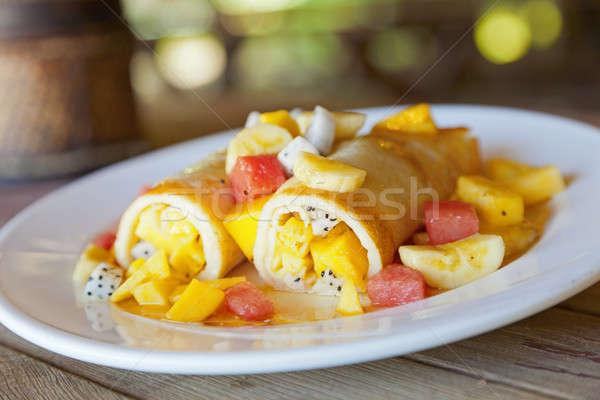Fruto prato fresco tropical frutas comida Foto stock © alexeys
