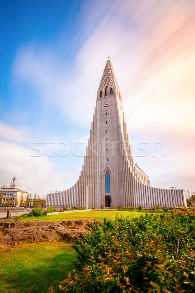 Hallgrimskirkja church Stock photo © alexeys