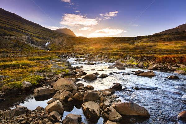 Seydisfjordur Fjord valley Stock photo © alexeys