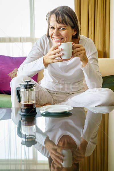 Morning coffee Stock photo © alexeys