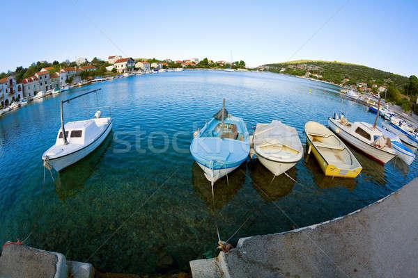 Boats Stock photo © alexeys