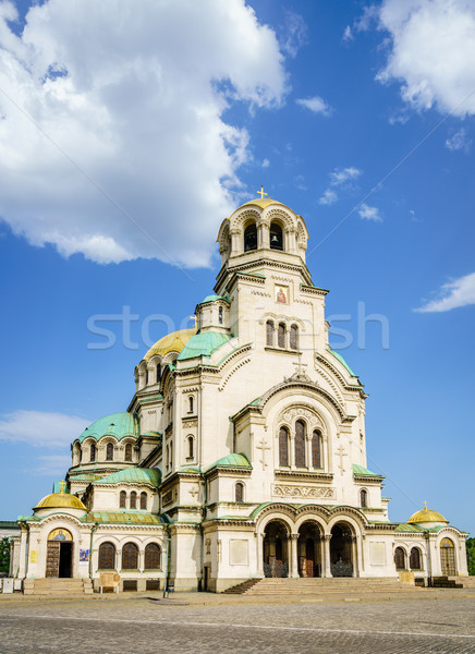 Alexander Nevsky Cathedral Stock photo © alexeys