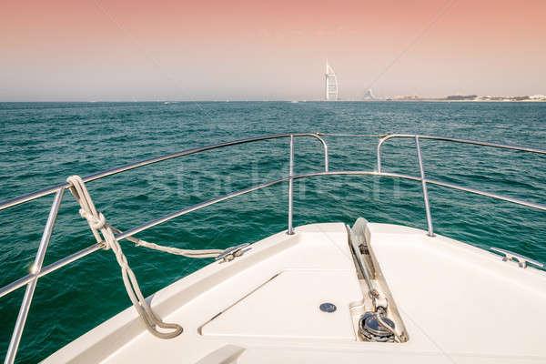 Boating in Dubai Stock photo © alexeys