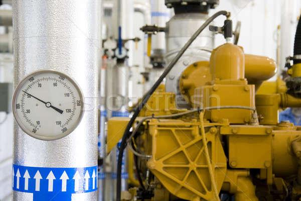 Benzin gyógyulás növény bent szeméttelep Indiana Stock fotó © alexeys
