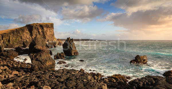 海岸 アイスランド 風光明媚な 表示 北方 ストックフォト © alexeys