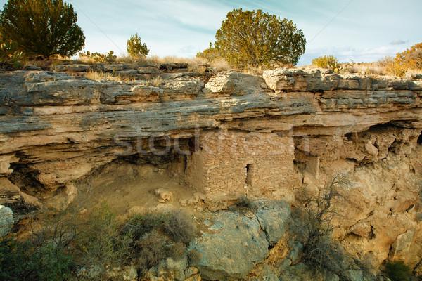 Indian ruins Stock photo © alexeys