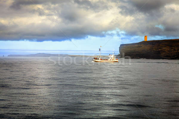 鯨 を見て 遠征 船 北方 ストックフォト © alexeys