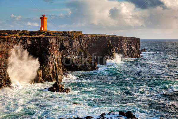 Icelandic coast Stock photo © alexeys