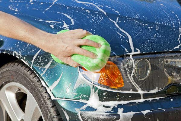 Washing car Stock photo © alexeys