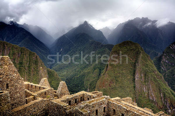 Machu Picchu ruins Stock photo © alexeys