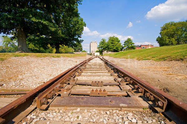 Railroad Stock photo © alexeys