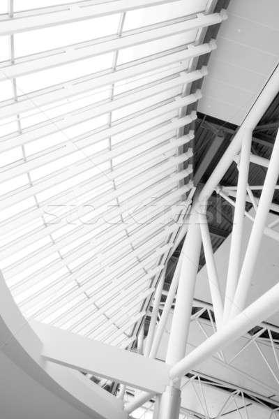 архитектурный детали интерьер основной здании Хьюстон Сток-фото © alexeys