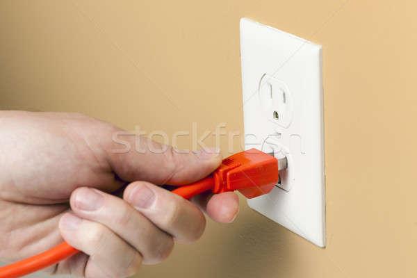 Electrical plug Stock photo © alexeys