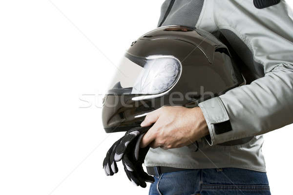 Motorcyclist Stock photo © alexeys