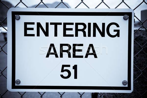 Area 51 Stock photo © alexeys