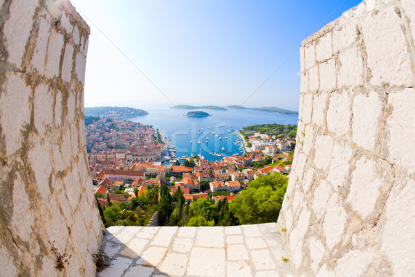 View of Hvar Stock photo © alexeys