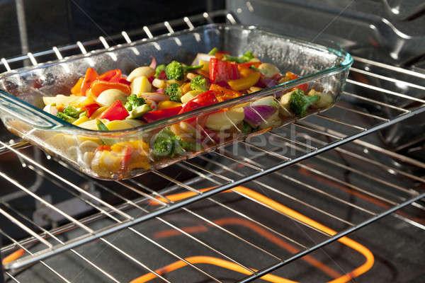 Roasting Vegetables Stock photo © alexeys