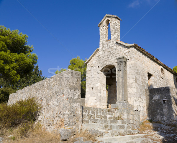 Croatian Chapel Stock photo © alexeys