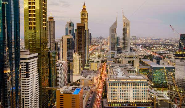 Dubai hora do rush aves olho ver Foto stock © alexeys
