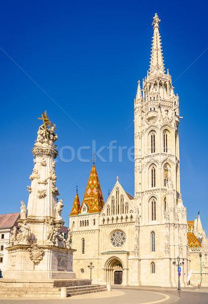 St. Matthias Church in Budapest Stock photo © alexeys