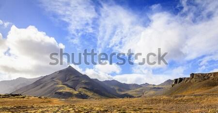 アイスランド 風景 道路 ストックフォト © alexeys