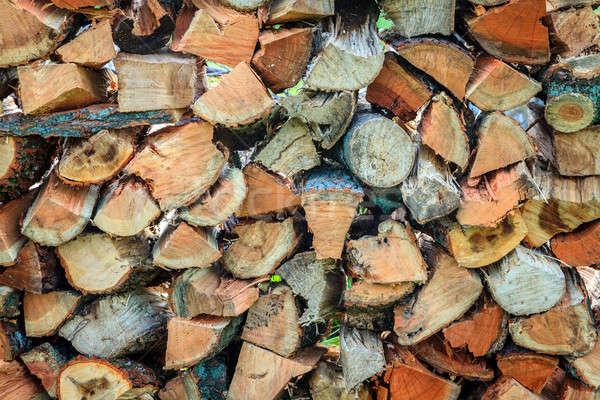 Firewood Stock photo © alexeys