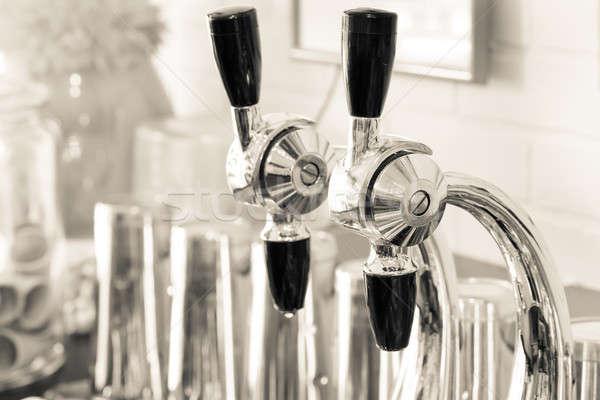 Soda Fountain Nozzles Stock photo © alexeys