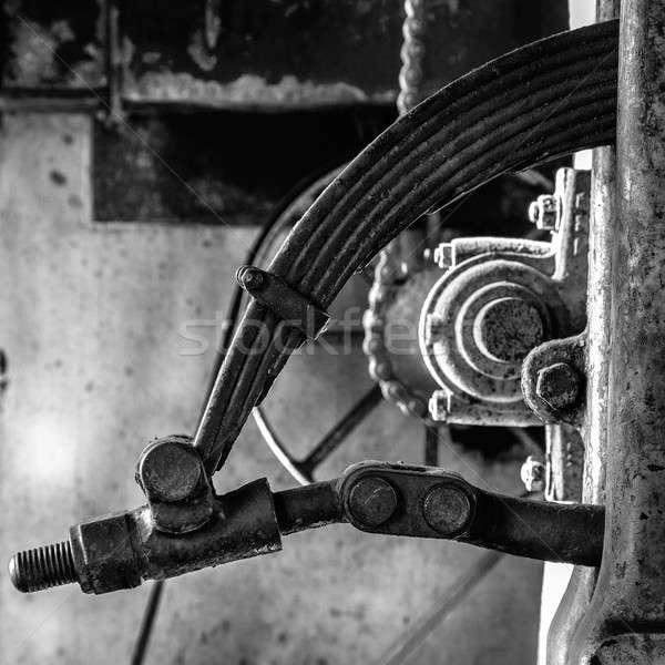 Machine spring Stock photo © alexeys