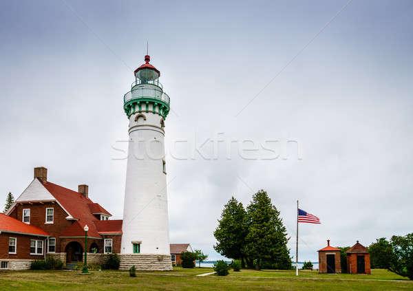Seul Choix Point Lighthouse Stock photo © alexeys