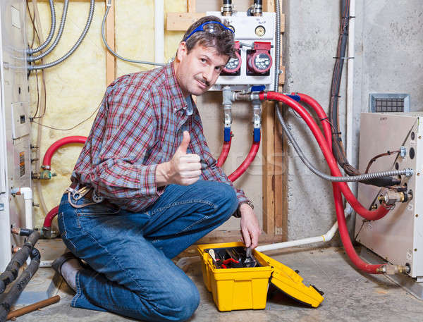 Handyman Stock photo © alexeys