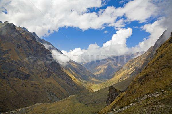Peruvian Andes Stock photo © alexeys