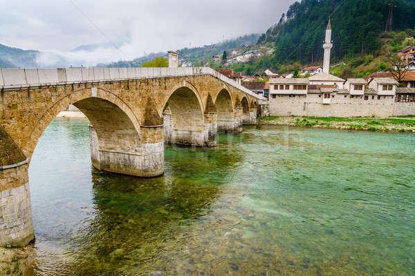 The Old Bridge in Konjic Stock photo © alexeys