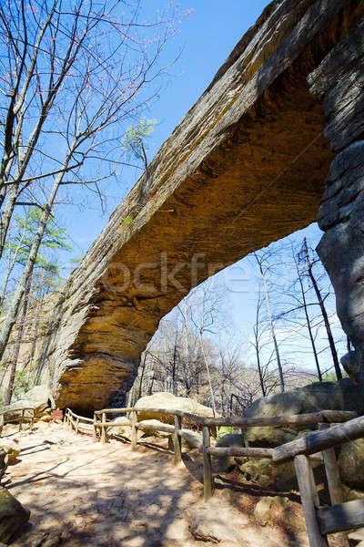 Natural bridge Stock photo © alexeys