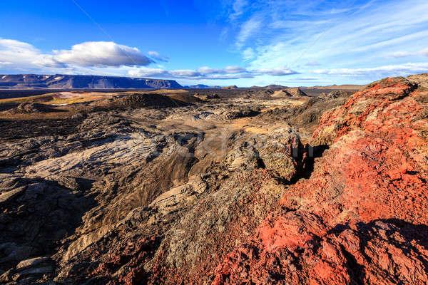 Krafla lava field Stock photo © alexeys