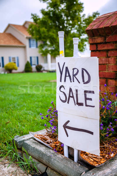 Yard sale Stock photo © alexeys