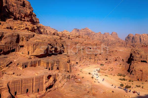 Morning in Petra Stock photo © alexeys