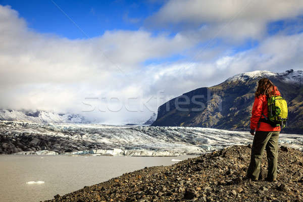 Fjallsarlon glacier lagoon Stock photo © alexeys