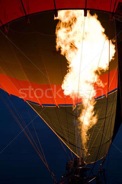Hot air balloon Stock photo © alexeys