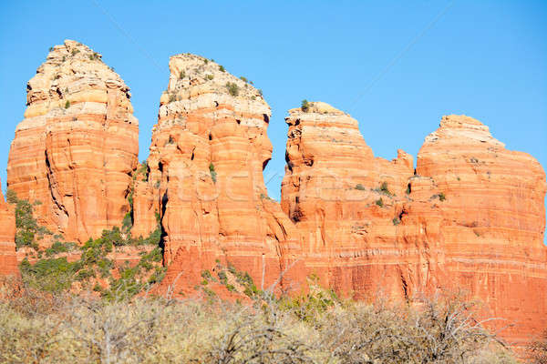 Red Rocks Formations Stock photo © alexeys