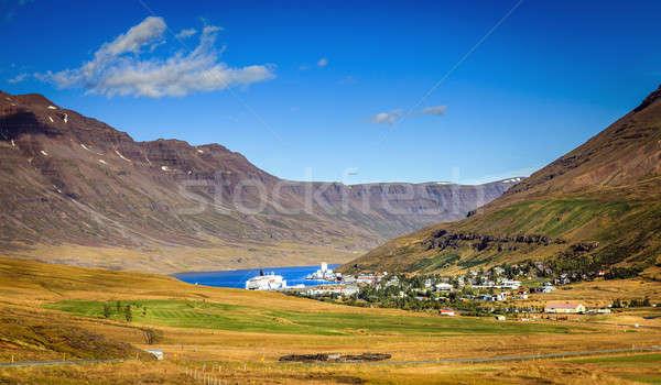 Seydisfjordur, Iceland Stock photo © alexeys