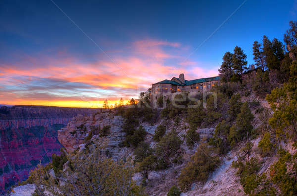Grand Canyon Lodge Stock photo © alexeys