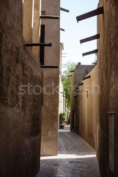 Historique rues vieille ville ciel rue Photo stock © alexeys